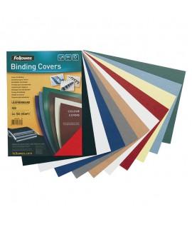 Įrišimo nugarėlės APEX 230 g/m2, 100 vnt. odos faktūra, juodos spalvos