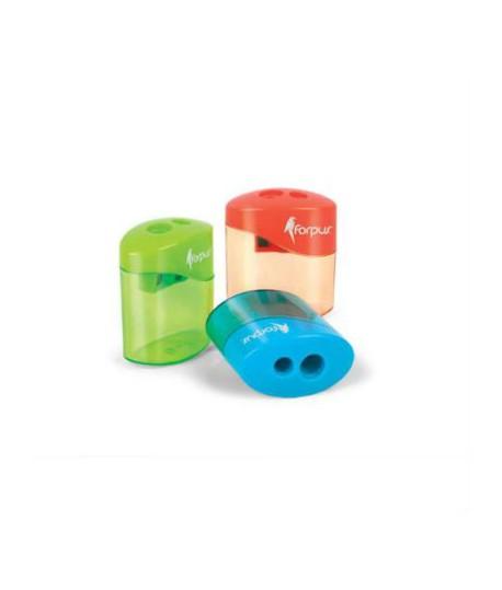Drožtukas FORPUS , plastikinis, dvigubas, mėlynas korpusas