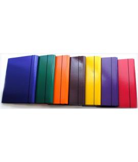 Aplankas su gumele VAUPE, A4, geltonas