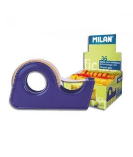 Lipni juosta 12 mm x 10 m su laikikliu MILAN
