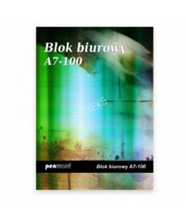 Bloknotas PENWORD A6/100 lapų, langeliais