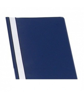 Segtuvėliai ELLER A4, plastikiniai, skaidriu viršeliu, tamsiai mėlyna, 25 vnt.