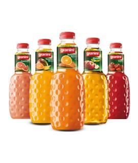 Persikų nektaras GRANINI 0,25 l, stikliniame butelyje