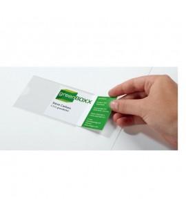 Priklijuojama kišenė dokumentams DURABLE POCKETFIX, 57 x 90 mm, 10 vnt.