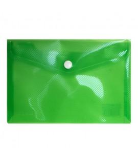 Aplankas (vokas) ELLER A6, su spaustuku, horizontalus, žalias