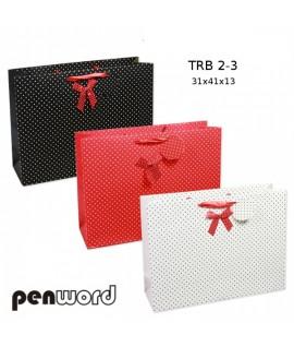 Krepšelis dovanoms PENWORD TRB 4-3, 40 x 30 x 12 cm