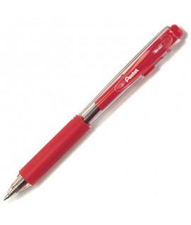 Automatinis tušinukas PENTEL BK 437, 0,7 mm raudonas