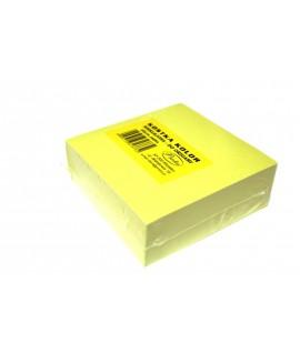 Lapeliai užrašams PROTOS , 300 lapelių, neklijuoti, šviesiai geltoni