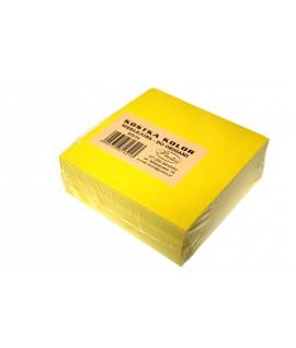 Lapeliai užrašams PROTOS , 300 lapelių, neklijuoti, geltoni