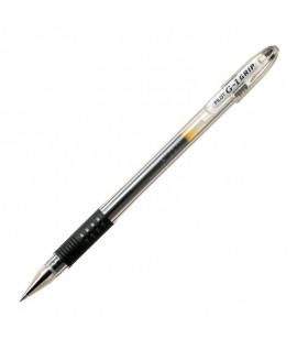 Gelinis rašiklis PILOT G-1 GRIP, 0,5 mm, juodas