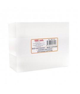 Baltas kartonas A5, 20 lapų, 300 gsm, 5BK-20