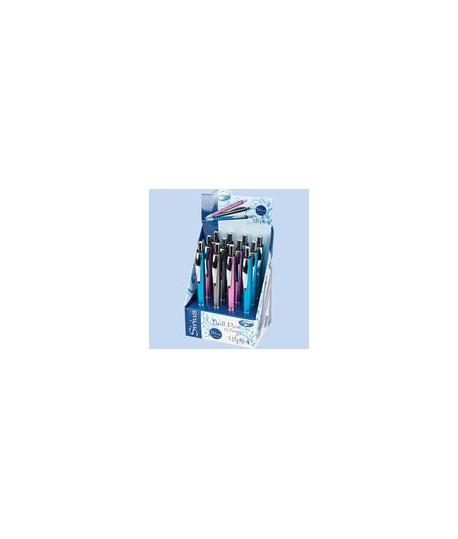 Automatinis tušinukas CENTRUM SIRIUS, 0,7 mm, mėlynas tušas