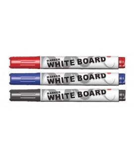 Žymeklis baltai lentai DELI Nr. 6807, juodas
