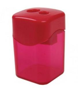 Drožtukas CENTRUM dvigubas, su konteineriu, įv. spalvų