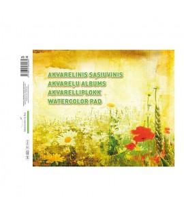 Sąsiuvinis s akvarelei Smiltainis A4, 10 lapų