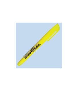 Teksto žymeklis plonas CENTRUM , geltonas