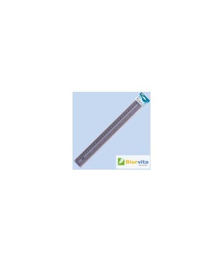 Plastikinė liniuotė CENTRUM , 30 cm, dūminė
