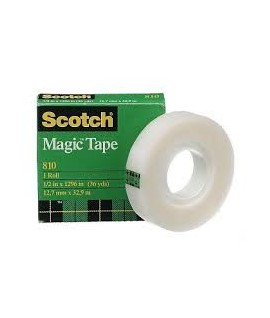 Lipni juostelė Scotch Magic 810 12 mm x 33 m