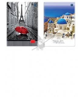 Sąsiuvinis- kontorinė knyga INTERDRUK A4, 160 lapai, langeliais