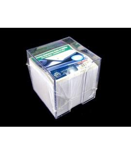 Lapeliai užrašams INTERDRUK, 85 x 85 x 70 mm, balti, dėžutėje