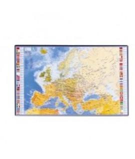 Stalo patiesalas VIQUEL Pasaulio žemėlapis 595 x 365 mm