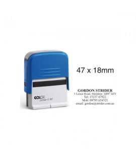 Gumelė antspaudui COLOP Printer 30 47 x 18 mm