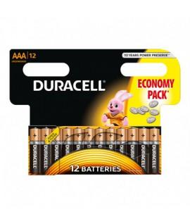 Baterijos DURACELL LR06 AA 12 vnt.