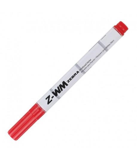 Žymeklis baltai lentai ZEBRA Z-WM, raudona