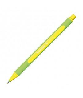 Rašiklis SCHNEIDER LINE-UP, 0,4 mm, rašalas neono geltona