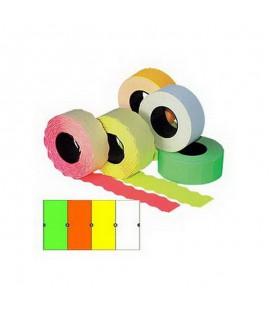 Kainų etiketės 26 x 16 mm stačiakampės 1000 vnt. 5 rul.