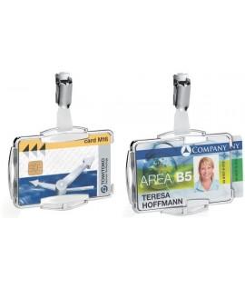 Kabinami dėklai magnetinėms kortelėms DURABLE RFID Secure Duo, 10 vnt.