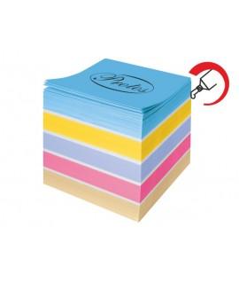 Lapeliai užrašams PROTOS 85 x 85 mm, 700 lapelių, spalvoti, klijuoti