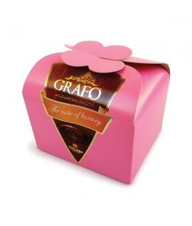 Džiovinti vaisiai juodajame šokolade DZŪKIJA Grafo, 200 g
