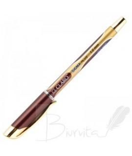 Tušinukas CLARO SIGMA GOLD 1,0 mm , juodas tušas