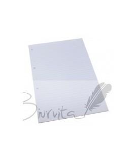 Papildomas popierius A4, 50 lapų, linijomis