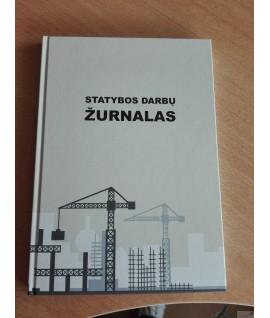 Statybos darbų žurnalas A4