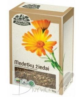 Žolelių arbata ŽOLYNĖLIS Medetkų žiedai, 30 g