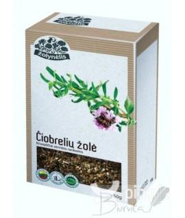 Žolelių arbata ŽOLYNĖLIS Čiobrelių žolė, 50 g