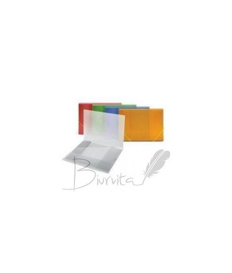 Aplankas OSIRIS, A4, su gumele , geltonas