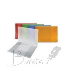Aplankas OSIRIS, A4, su gumele , baltas