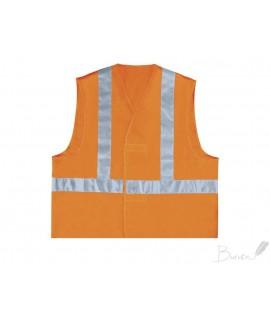 Liemenė DELTA PLUS HV, L dydis, oranžinė sp.