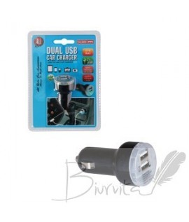 Įkroviklis auto 2*USB 2.1A ALL RIDE 871125286481