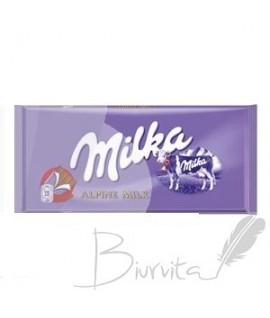 MILKA pieninis šokoladas, 100 g