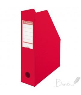 Stovas dokumentams ESSELTE VIVIDA, A4, 70 mm, raudonas