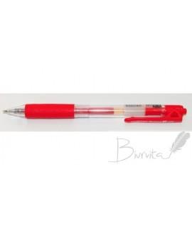 Automatinis gelinis rašiklis AIHAO, 0,5 mm, raudonas