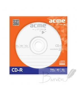 Kompaktinis diskas Acme CD-R, 700 MB, pop. vokelyje