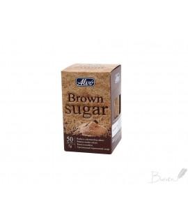 Rudas cukrus ALVO 50 pak x 5 g