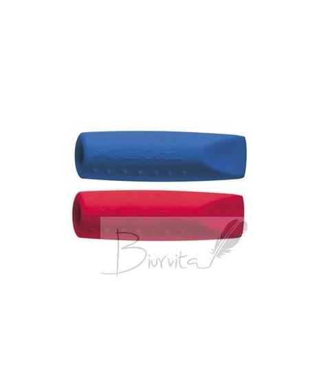 Trintukas Faber Castell , raudonas ir mėlynas