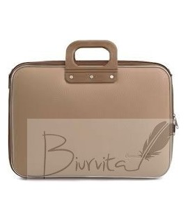 Kompiuterio krepšys BOMBATA CLASSIC 15, smėlio spalvos