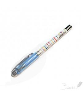 Tušinukas CLARO JAZZ, 0,7 mm, mėlynas ,1 vnt, blisteryje